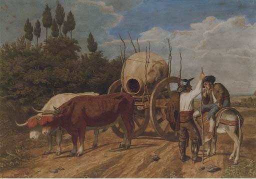Carl Libert August Lentz (German, 1827-1898)
