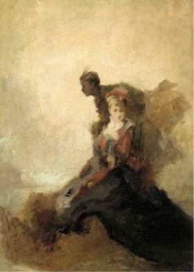 Attributed to Tranquillo Cremona (Italian, 1837-1878)