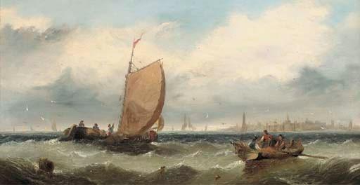 Circle of Edwin Hayes, (1820-1