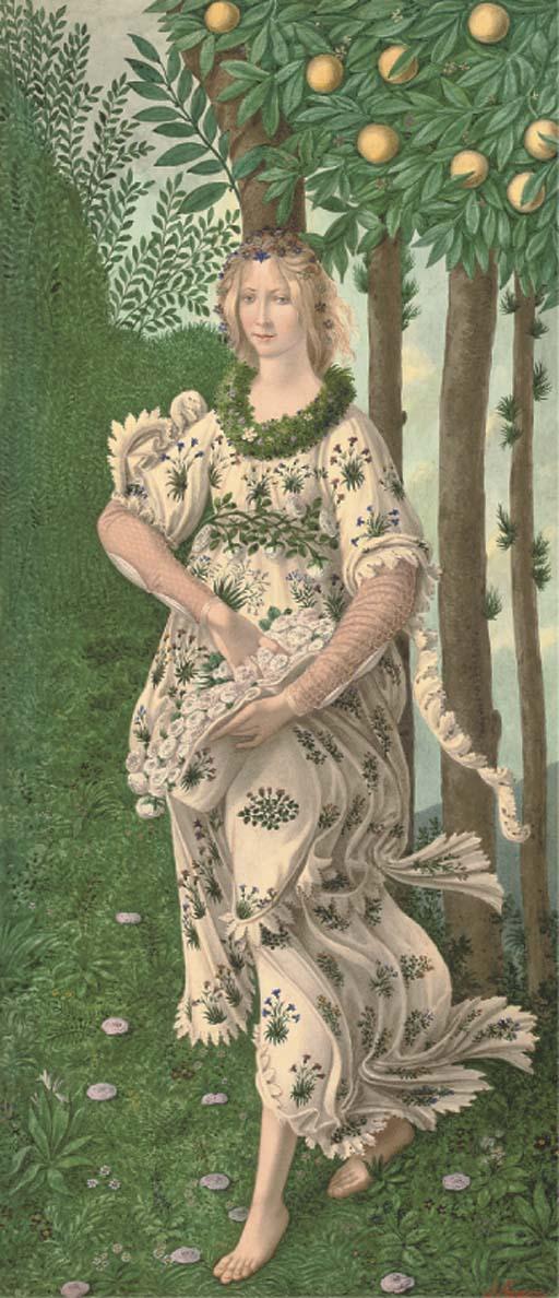 G. Prosdocini (Italian, 20th Century), after Sandro Botticelli