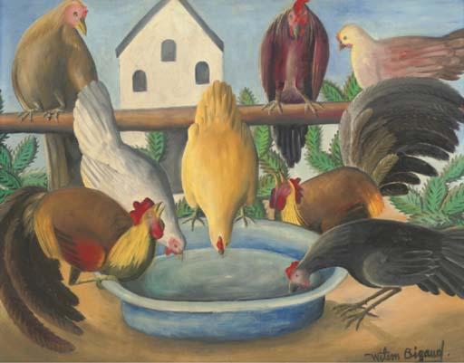 Wilson Bigaud (Haitian, b.1931