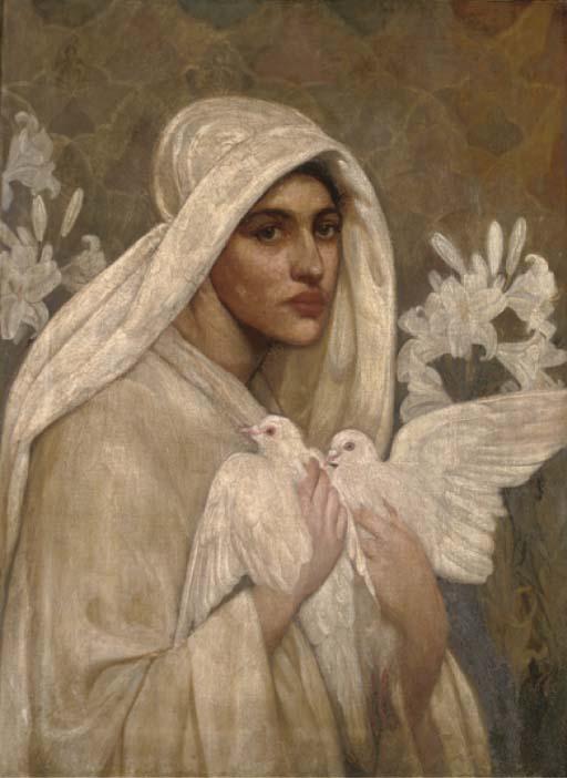Follower of Dante Gabriel Rossetti