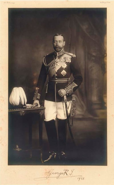 GEORGE V (1865-1936) and Queen