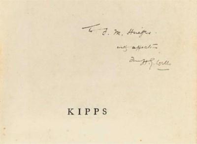 WELLS, H. G. (1866-1946). Kipp