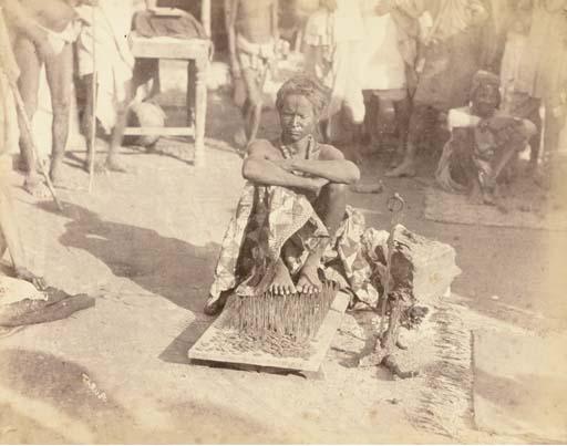 INDIA -- ALBUM OF PHOTOGRAPHS