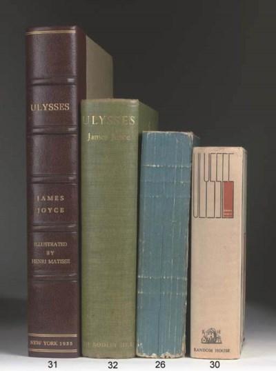 JOYCE, James (1882-1941). Ulys