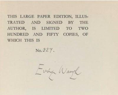 WAUGH, Evelyn (1903-66).  Blac