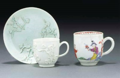 A Bow white prunus coffee-cup