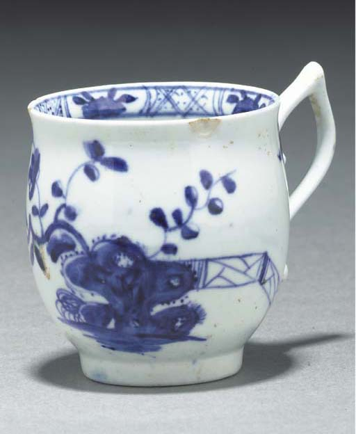 A Worcester blue and white bal