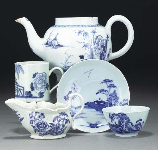Various items of Liverpool blu