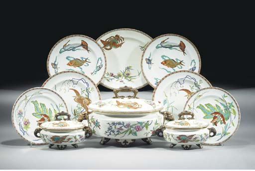 A Royal Worcester composite pa