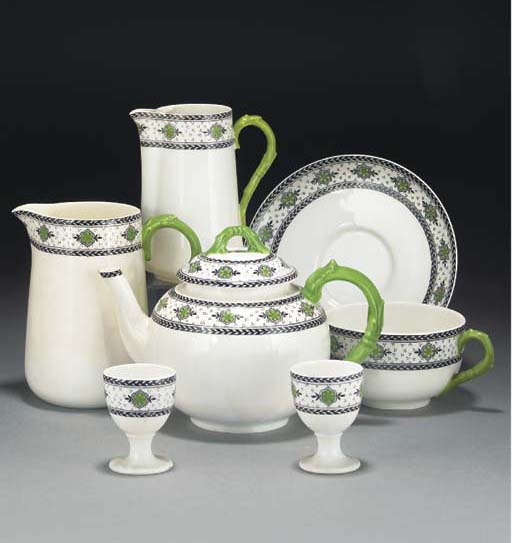 A Royal Worcester part dinner-service and other items of English and Continental pottery and porcelain