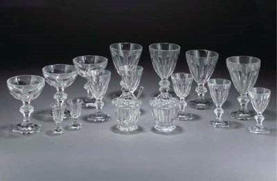 A BACCARAT AND WEBB'S EXTENSIV