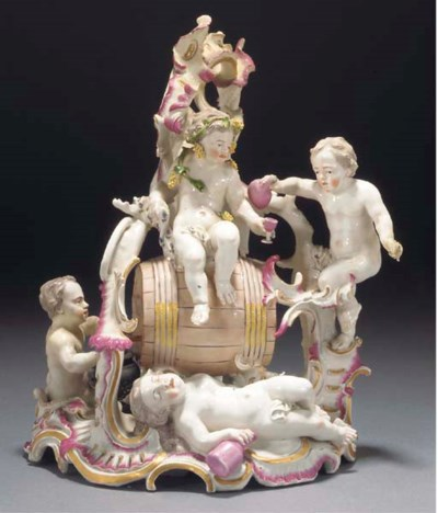 A Frankenthal Bacchic group of