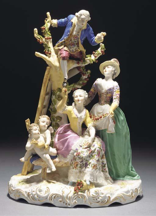 Various Continental porcelain