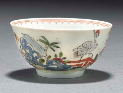 A Worcester chinoiserie patter