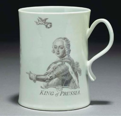 A Worcester 'King of Prussia'