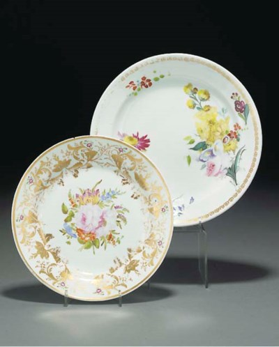Two Swansea plates