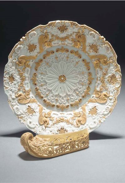 A Royal Worcester model of a T