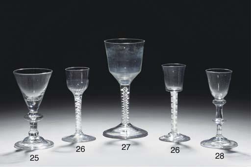 An opaque-twist goblet