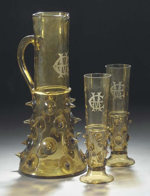 A Historismus monogrammed jug