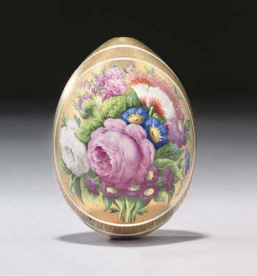 A RUSSIAN IMPERIAL PORCELAIN (