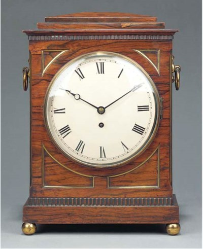 A George IV rosewood and gilt-