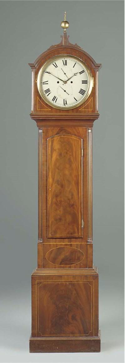 A Regency Scottish mahogany an