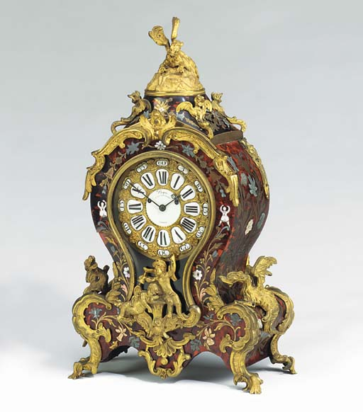 A Victorian ormolu-mounted red