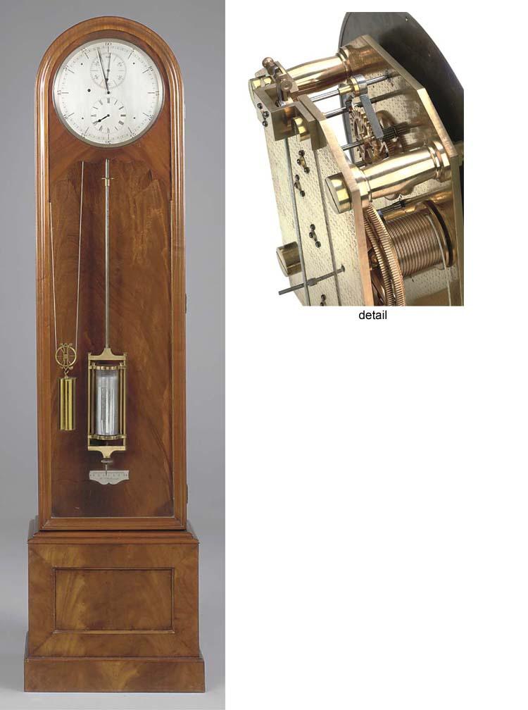 An English mahogany longcase r