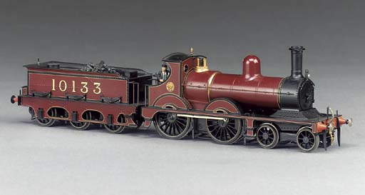 The LMS (ex Furness Railway) 4-4-0 locomotive and tender No. 10133,