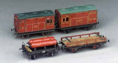 A collection of four LMS non-p
