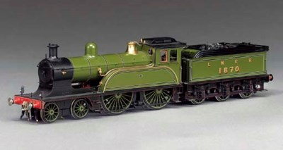 The LNER (ex-NER) Class 01 4-4