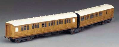 A LNER twin coach articulated