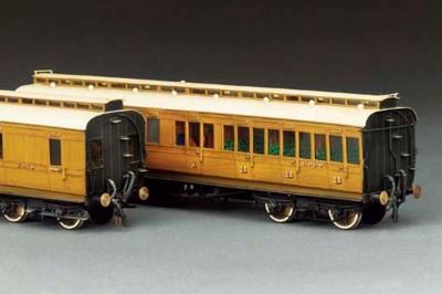 Two LNER (ex-GCR) clerestory r