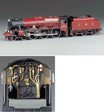 The LMS Class 6P 4-6-0 locomot