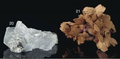 A striking selenite specimen,