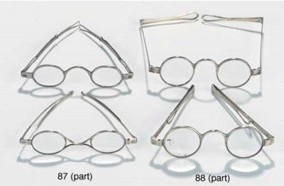 Four pairs of English 19th-Cen