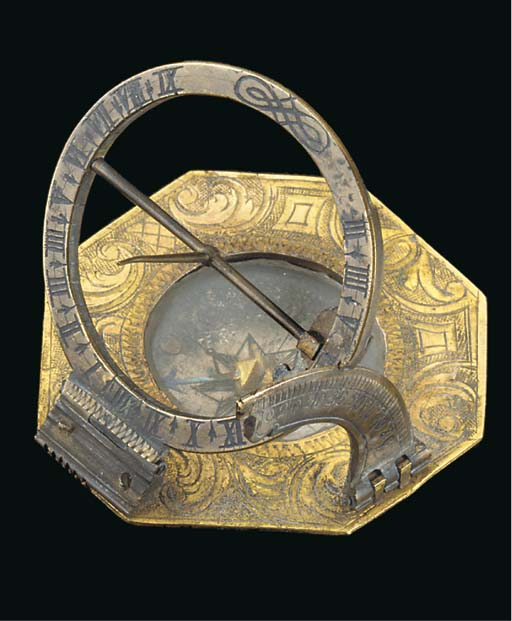 An early 18th-Century brass Au