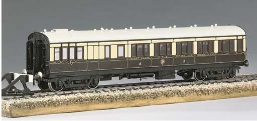 A fine model of a G.W.R. twin-