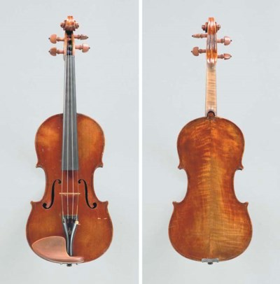 A Neapolitan violin, possibly