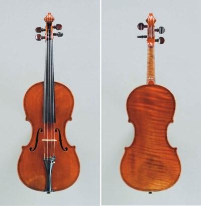 A French Violin by Nicolas-Fra