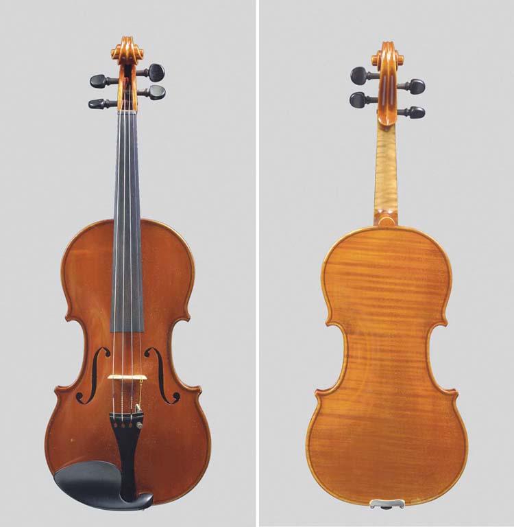 A Violin by Ansaldo Poggi, Bol