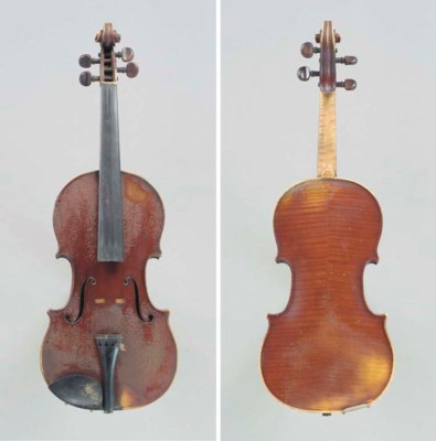 A Violin by Dominicus Vlummens
