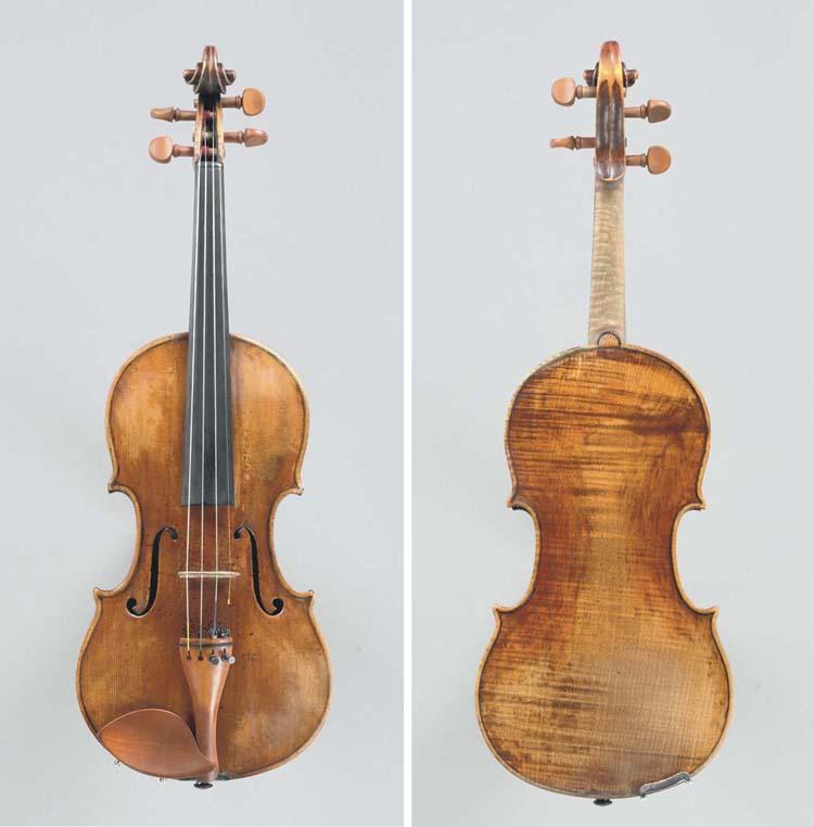 An interesting Neapolitan viol