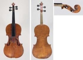 A Fine Cremonese Violin by Enrico Ceruti, Cremona 1864