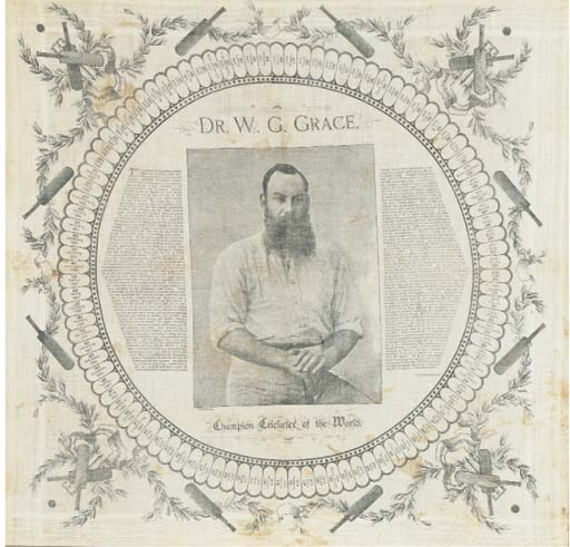 DR W.G. GRACE, CHAMPION CRICKE