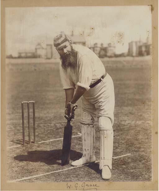 W.G. GRACE, 1896