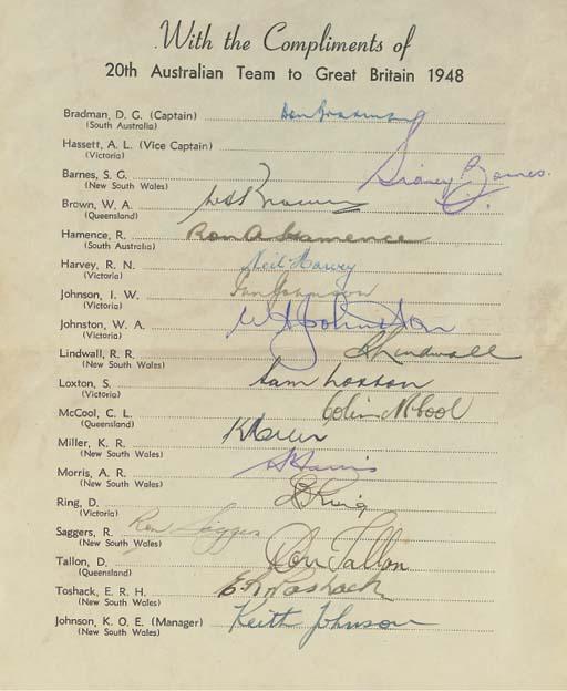 AUSTRALIA, 1948