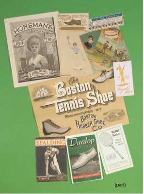 A COLLECTION OF VARIOUS TENNIS